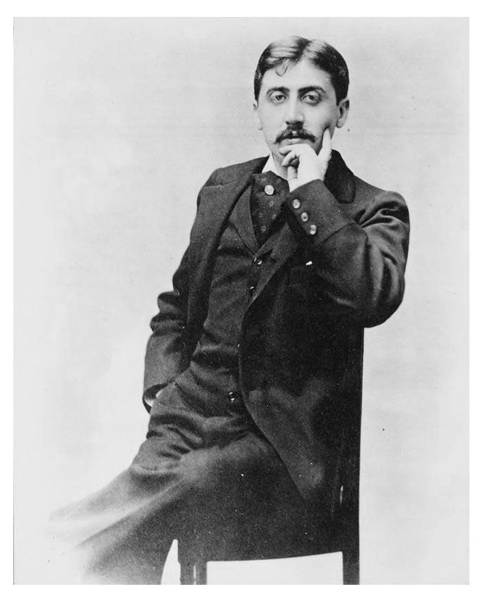 Marcel Proust, Elstir, label de musique novateur