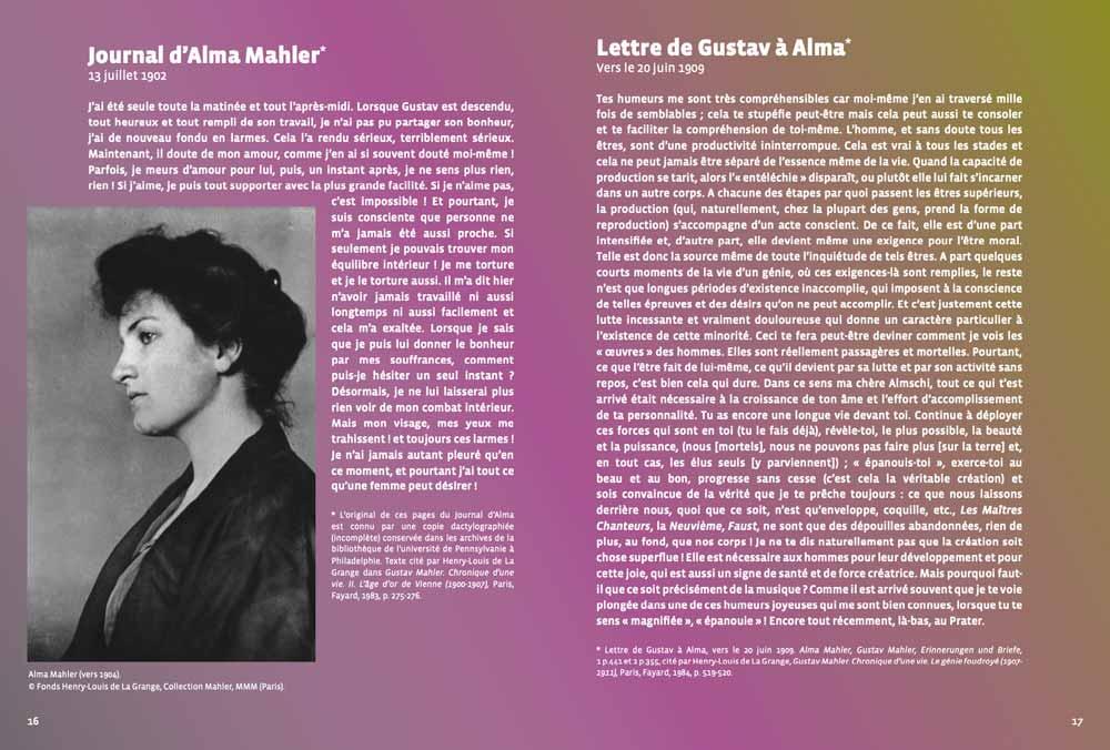Mahler intime. Editions Elstir, avec le Trio George Sand, Jennifer Tani et Violaine Despeyroux